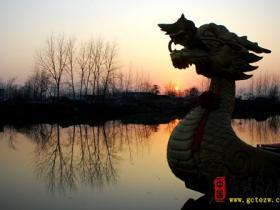 【摄影作品欣赏】 梦幻中的台儿庄古城(冬景)