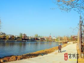台儿庄:古城重建系列之-----顺河街工程 (图)