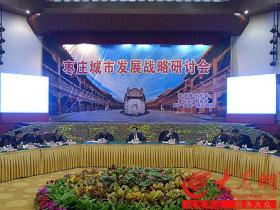 枣庄城市发展战略研讨会在台儿庄古城举行(图)