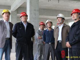枣庄二中迁建工程现场会召开(图)