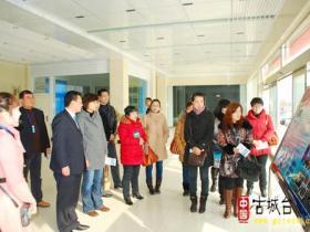 台儿庄区政务服务中心赴峄城参观学习(图)