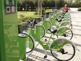 古城台儿庄:倡导绿色出行 城市公共自行车服务系统建成(图)