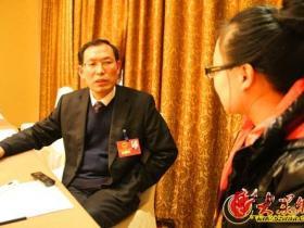【记者专访】王广金:台儿庄古城要变水城、绿城、慢城
