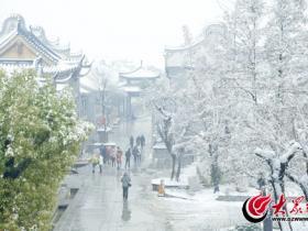 台儿庄:瑞雪!因古城变的更美丽(图)