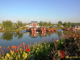 台儿庄运河湿地景区跻身国家4A级旅游景区(图)