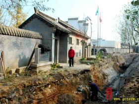 台儿庄清真南寺元、明时期的藏经阁大殿月台旧址被发现(图)