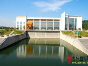 【图文】南水北调东线一期全线通水 台儿庄泵站河道抽调水87万方