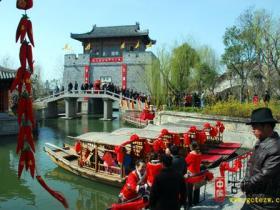 二月二龙抬头:台儿庄古城今天举行开河仪式(图)