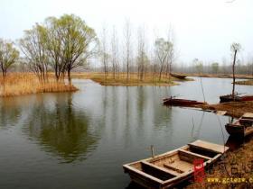 """摄影报道:""""我和湿地有个约定""""台儿庄运河湿地之涛沟河(五)"""
