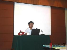 台儿庄大酒店举行团队建设培训班(图)