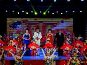 摄影报道:2014年台儿庄春晚——《走进春天》