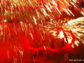 """【美图欣赏】台儿庄古城:""""龙腾盛世聚古城 火龙钢花不夜天""""(三)"""