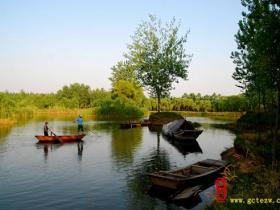 摄影报道:台儿庄国家运河湿地之生态涛沟河观光采风(三)