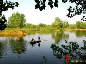 摄影报道:台儿庄国家运河湿地之生态涛沟河观光采风(一)