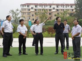 省考核涧头集镇省级示范镇创建工作 王辉陪同(图)