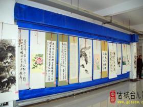 台儿庄区教育系统庆元旦师生书画作品评比活动举行(图)
