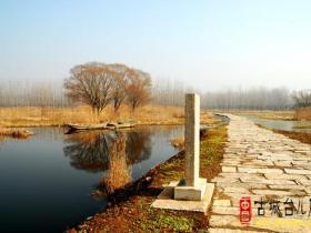 摄影报道:台儿庄涛沟河随拍(冬景)