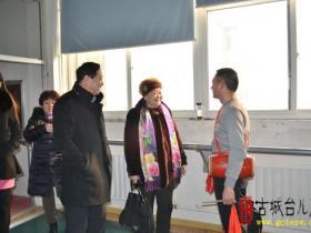 枣庄群艺馆和非遗保护中心领导来我区调研山东省非遗项目《鲁南花鼓》排练情况(图)