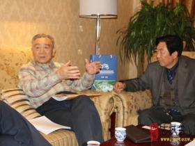 全国工商联原副主席王治国来枣庄与峄阳王探访交流(图)