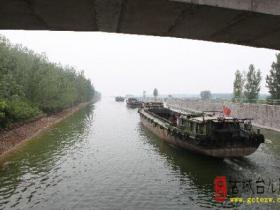 近期雨水增多航道水位上升 京杭大运河枣庄段恢复通航(图)