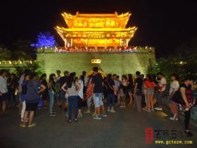 2015台儿庄古城第4届仲夏狂欢季——台城风情文化街开街了(图)