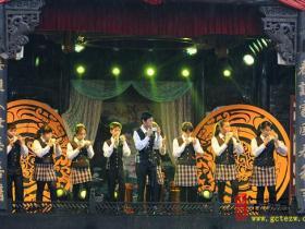 台湾嘉义陶笛乐团来台儿庄古城举行专场演出(图)