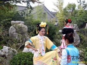 【图文】台儿庄古城上演历史爆笑大剧《格格出嫁》