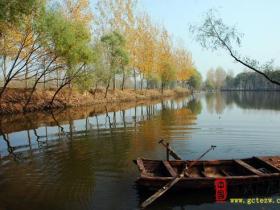 【读图】秋到湿地景更美——台儿庄运河湿地之涛沟河自然景观(四)