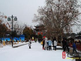 摄影报道:寒潮中的台儿庄——街头随拍(二)