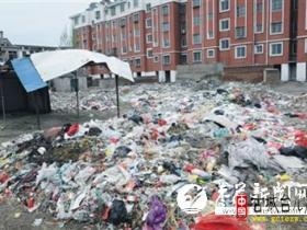 台儿庄文化农贸市场:别家户外早花香 此处垃圾犹熏人(图)