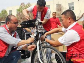 邳庄镇30名残疾人朋友今天喜领辅助器械(图)