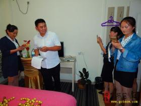 台儿庄大酒店隆重举行首届个性化客房创意设计大赛(图)