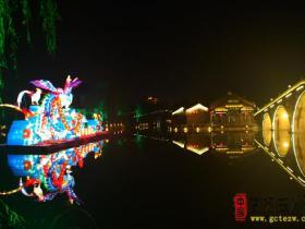 【夜色美景】花灯年年有,今年特别多——看台儿庄古城的花灯(七)