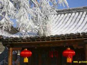 【图文】大雪白色警报 | 一则来自台儿庄古城的天气预报!