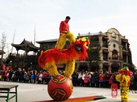 【图文】享传统年文化:来台儿庄古城过大年