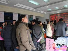 """【图文】""""春风行动""""台儿庄区大型招聘会又掀暖流"""
