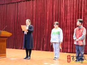 """枣庄二中举行""""传承雷锋精神,争做文明学生""""演讲比赛(图)"""