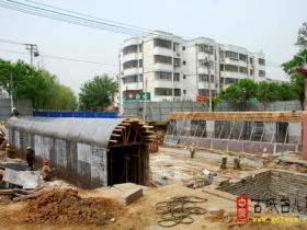 【图文】古城台儿庄:兰祺河上金光桥重建工程启动(二)