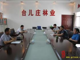 【图文】市林业局督导组到台儿庄区检查林业安全生产工作