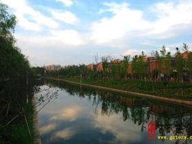 【读图】古城台儿庄:兰祺河畔好风光(二)