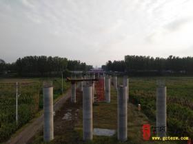 【图文】众志成城 大干快上——台儿庄韩庄运河大桥、伊家河大桥施工纪实