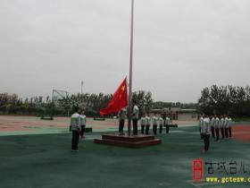喜迎新学年 开启新征程——枣庄二中举行新学年第一次升旗仪式(图)
