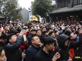 【图文】狗哥!台儿庄古城春节7天突破70万人次,旅游综合收入实现倍增!