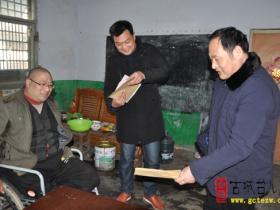 【图文】枣庄三十九中:精准扶贫 温暖过冬