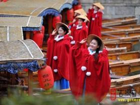 【图文】台儿庄古城:丽人节时 春满城