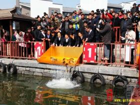 """【图文】""""二月二 龙抬头"""",敬龙祈福,台儿庄古运河畔再现传统民俗"""