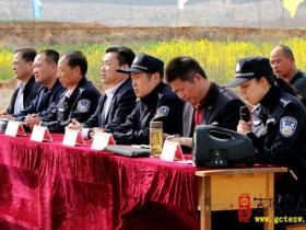 【图文】台儿庄区组织开展森林防火应急实战演练