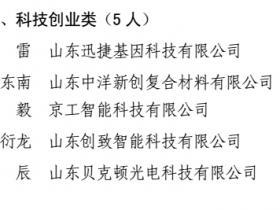 枣庄英才名单公布 三类人才共22人上榜 看看台儿庄都有谁