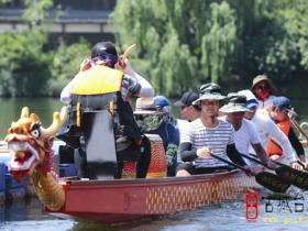 【图文】台儿庄古城:驭龙飞舞:划龙舟,挥桨迎端午