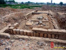 古城台儿庄:泰山行宫庙挖掘有重大发现 为千年古城又找到依据(图)